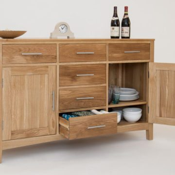 Hereford Oak Dining & Living Room