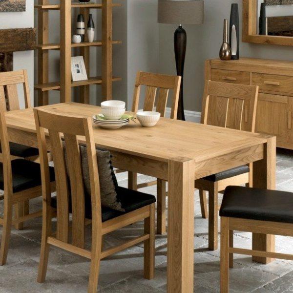 Lyon Oak Dining Room