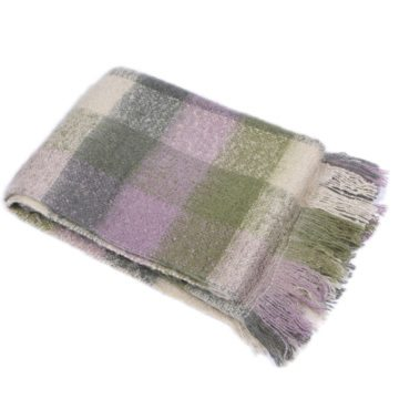 BALMORAL THROW | GREEN