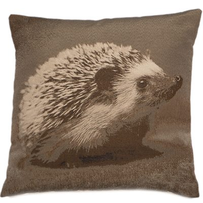 HEDGEHOG CUSHION | BROWN