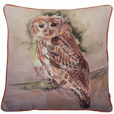 OWL CUSHION | RUST