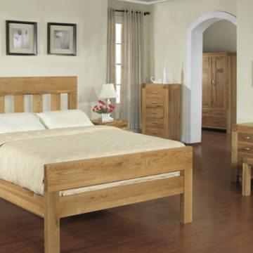 Santana Blonde Oak Bedroom