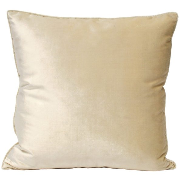 Luxe Velvet Ivory Cushion