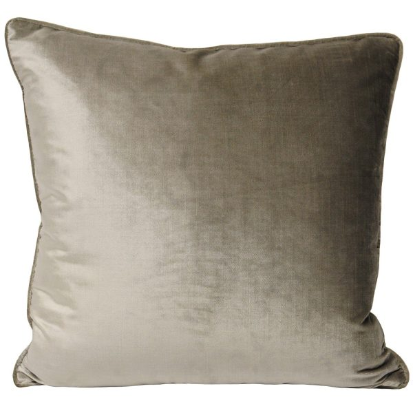 Luxe Velvet Mink Cushion