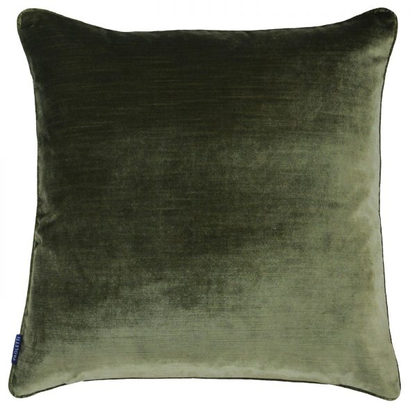Luxe Velvet Olive Cushion