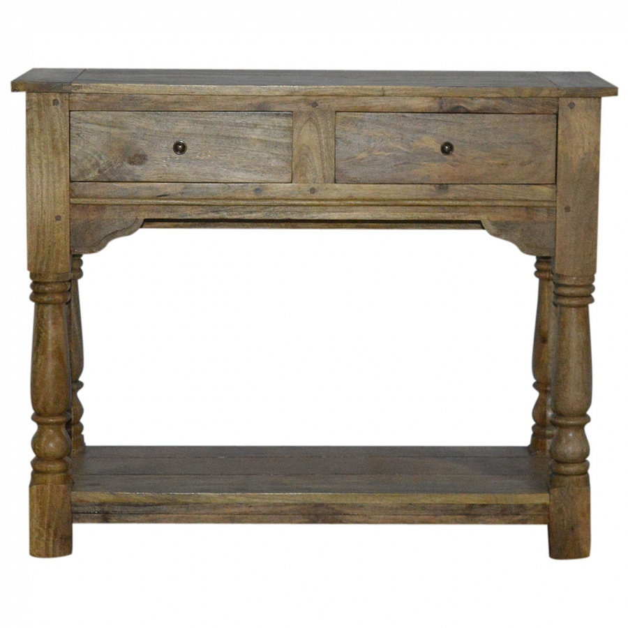 Mango hill drawer console table the haven home interiors