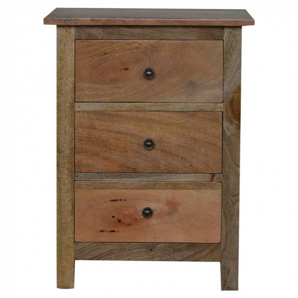 Mango Hill 3 Drawer Bedside Table