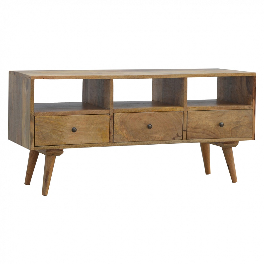 Mango Hill 3 Drawer Media TV Unit
