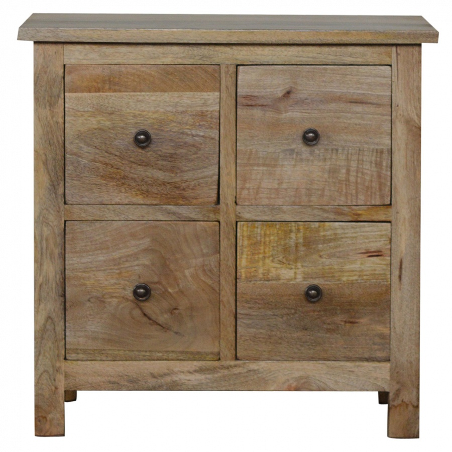 Mango Hill 4 Drawer CD Cabinet  sc 1 st  Haven Furniture & Mango Hill 4 Drawer CD Cabinet | The Haven Home Interiors