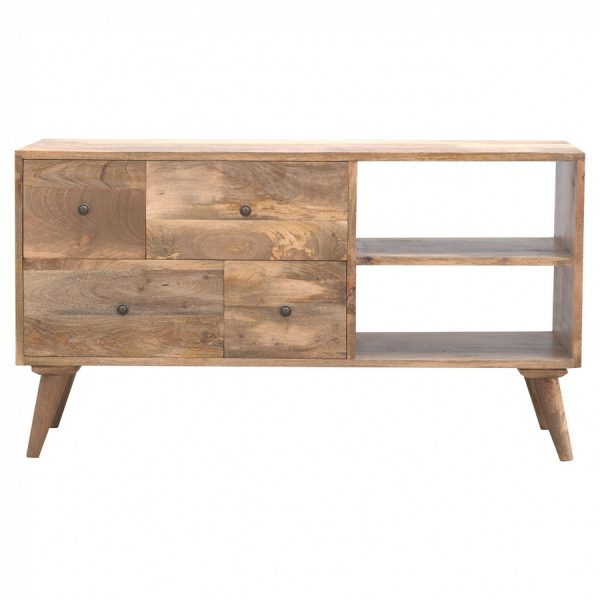 Mango Hill 4 Drawer Media Unit