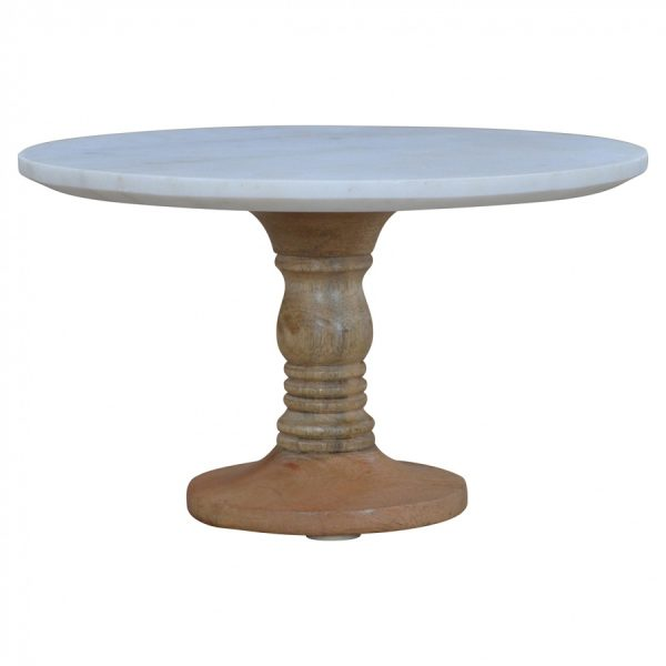 Mango Hill Cake Stand with Marble Top