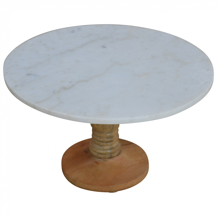 marble cake stand mango hill cake stand with marble top the home 5702