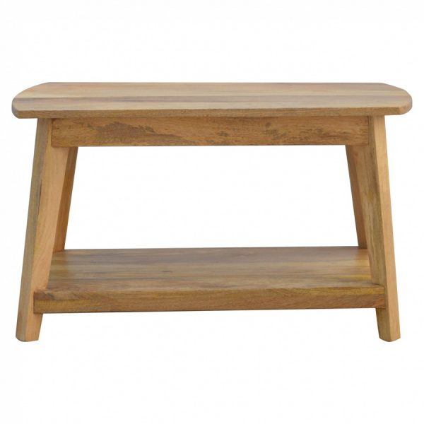 Mango Hill Coffee Table with Shelf