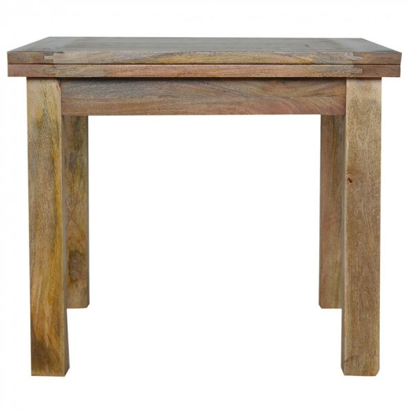 Mango Hill Extendable Butterfly Dining Table with Straight Legs