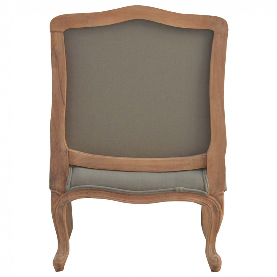Mango Hill French Styled Upholstered Arm Chair