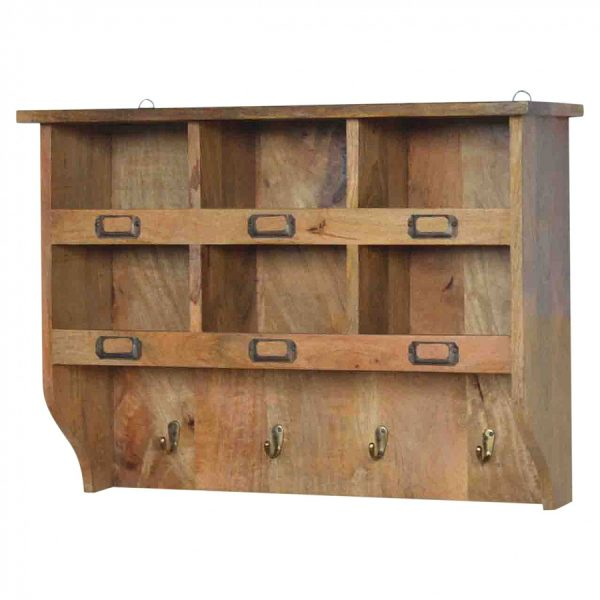 Mango Hill Hook & Hide Wall Mounted Unit