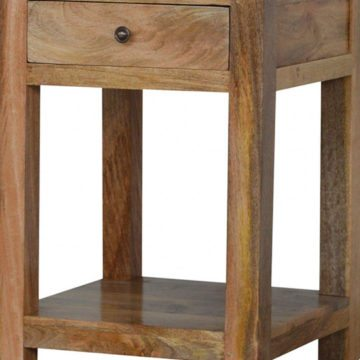 Mango Hill Lamp Table with Drawer