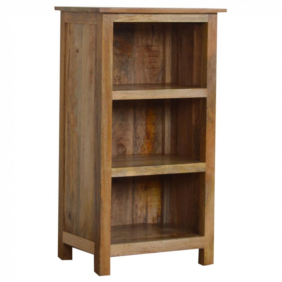 Mango Hill Rustic Bookcase 3 Shelves