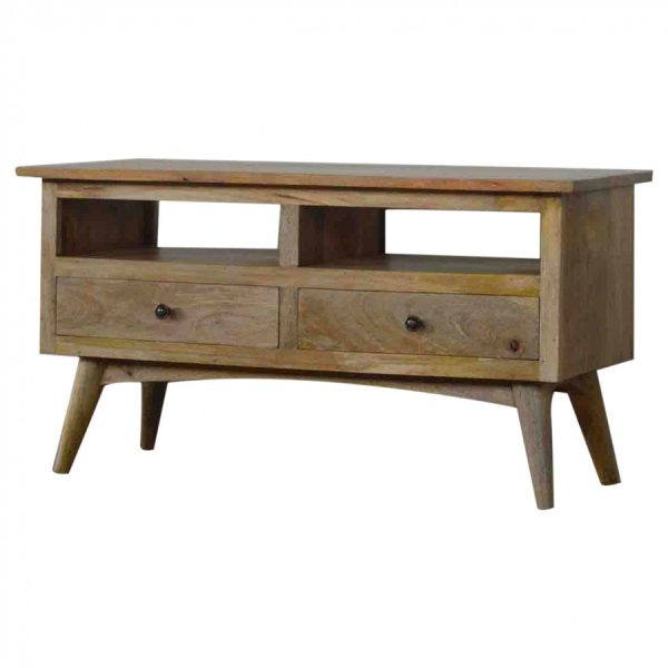 Mango Hill TV Stand with 2 Drawers and 2 Shelves