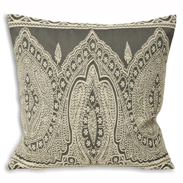 Paisley Grey Cushion