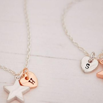 'Personalise Your Story' Jewellery