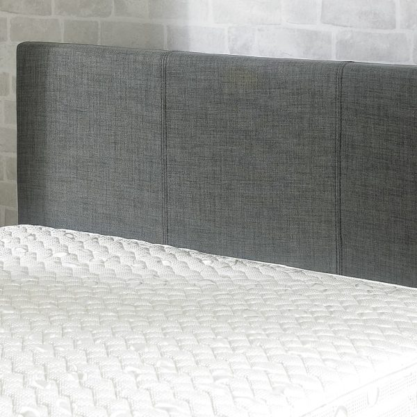 Stirling Fabric Ottoman Bed New Grey