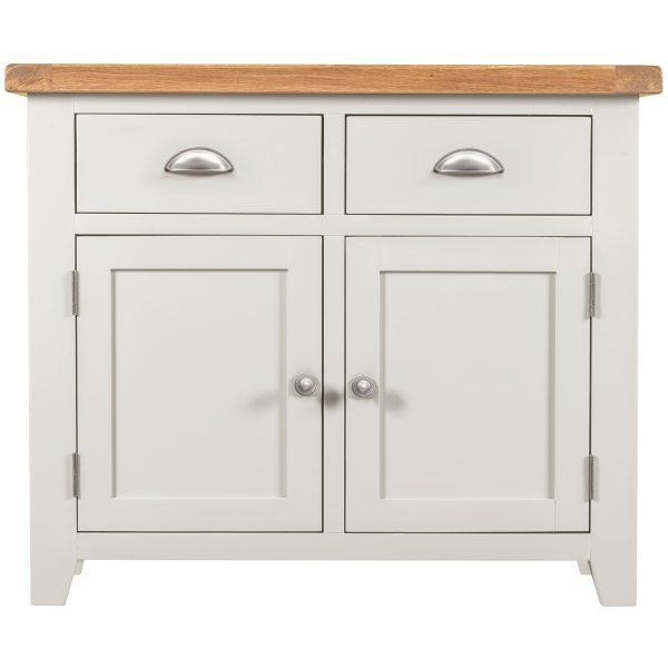 Willow White 2 Door 2 Drawer Sideboard