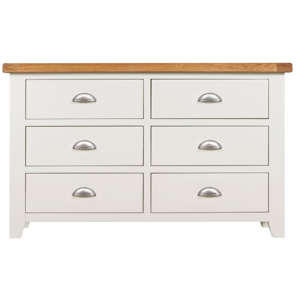 Willow White 6 Drawer Chest