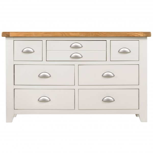 Willow White 3+4 Drawer Chest