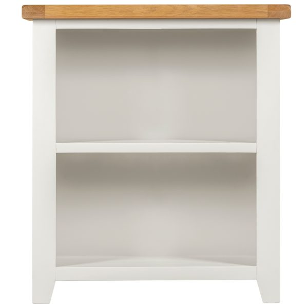 Willow White Low Bookcase