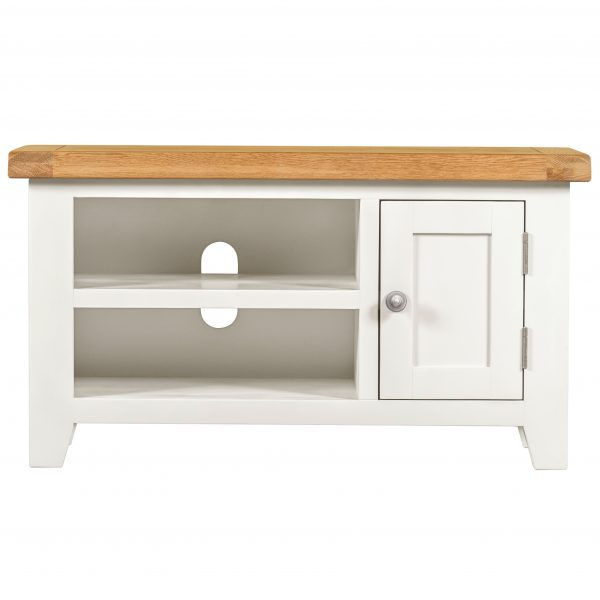 Willow White Small TV Unit