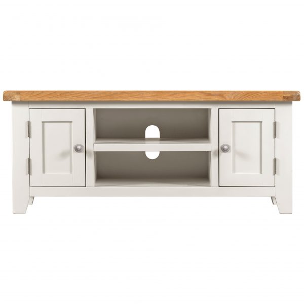 Willow White Large TV Unit