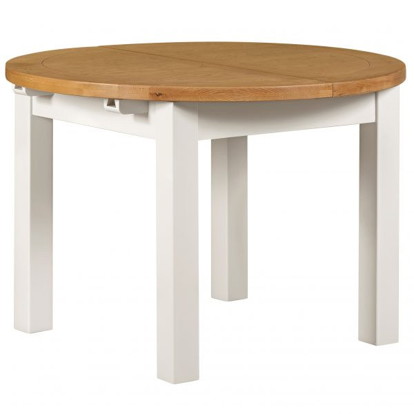Willow White Circular Dining Table