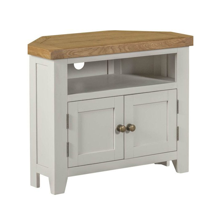 Willow Grey Corner TV Unit