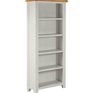 Willow Grey Large Bookcase