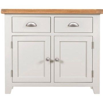 Willow White 2 Door 2 Drawer Sideboard