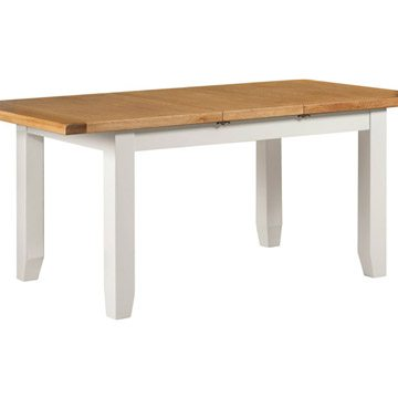 Willow White Medium Extending Dining Table