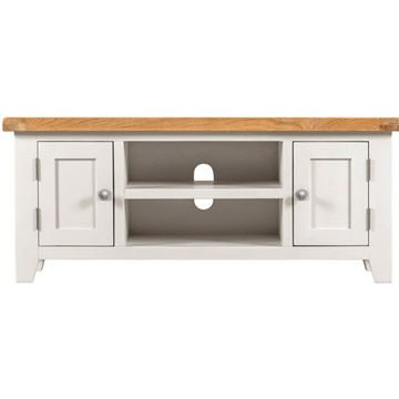 Willow White Plasma TV Unit