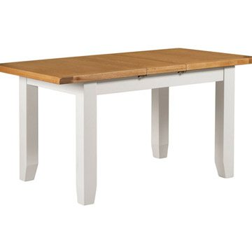 Willow white small extending dining table the haven home interiors Small white dining table