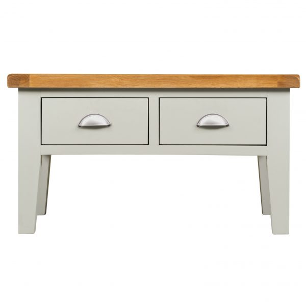 Willow Grey Coffee Table With Drawers