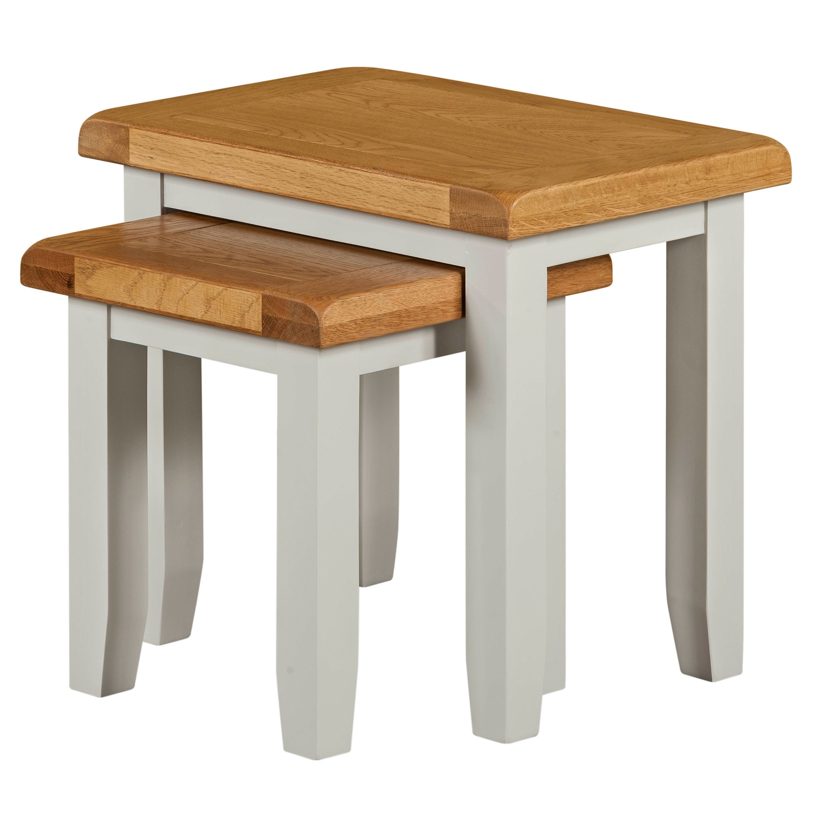 Willow Grey Nest Of 2 Tables