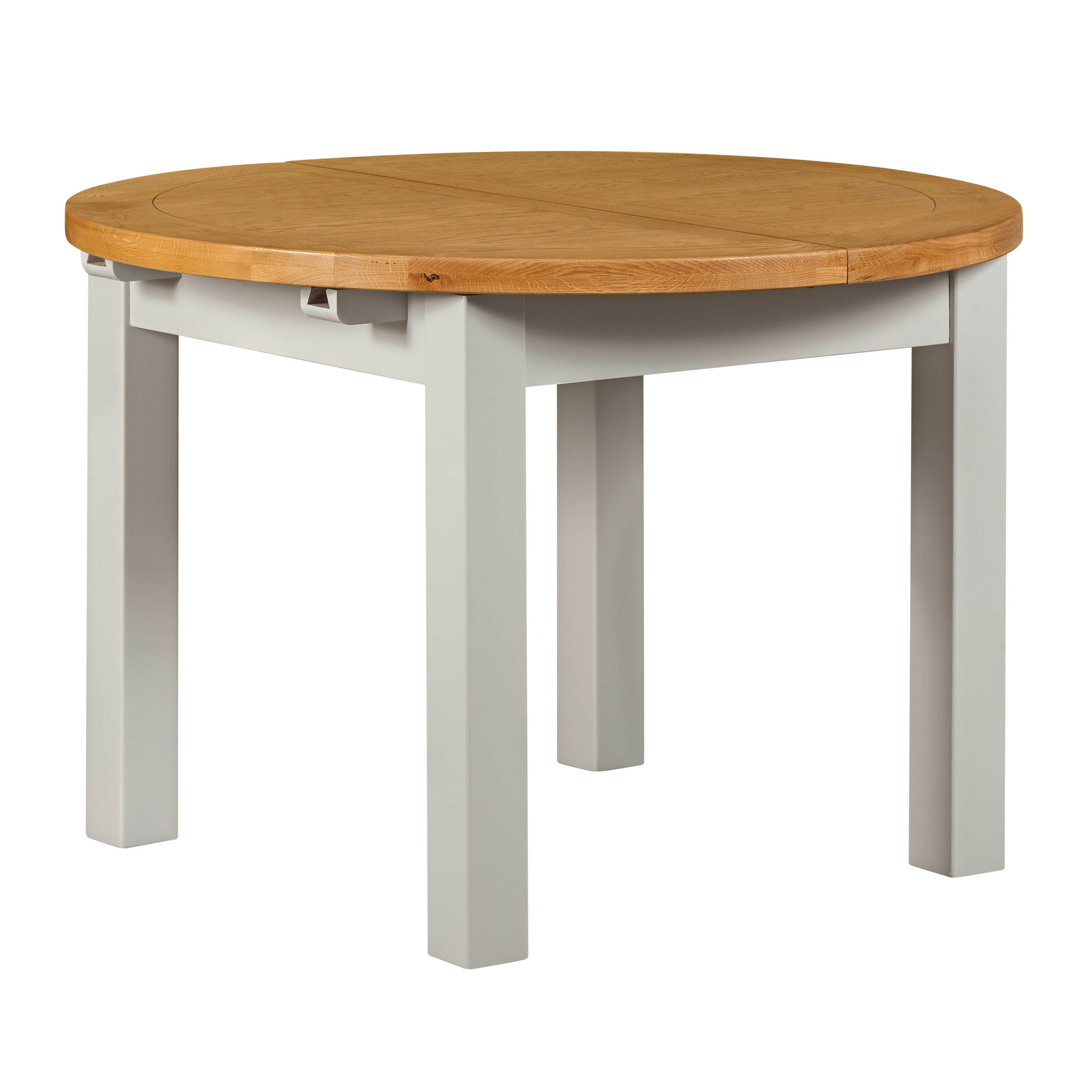 Willow Grey Round Dining Table