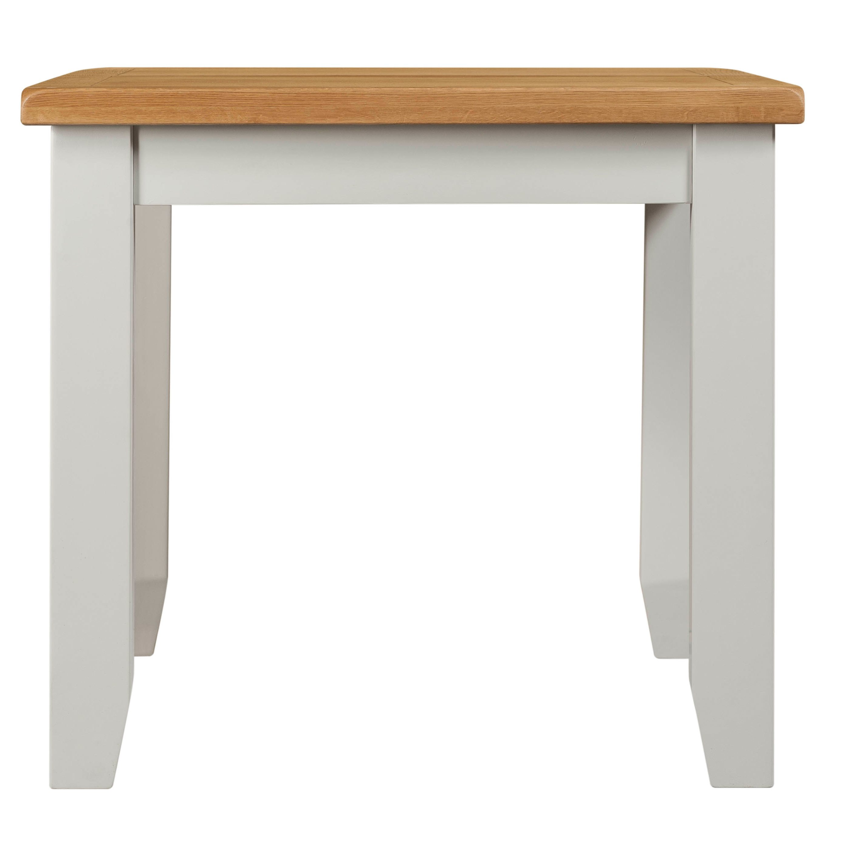Willow Grey Small Extending Dining Table