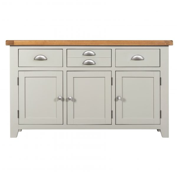 Willow Grey 3 Doors 3 Drawers Sideboard