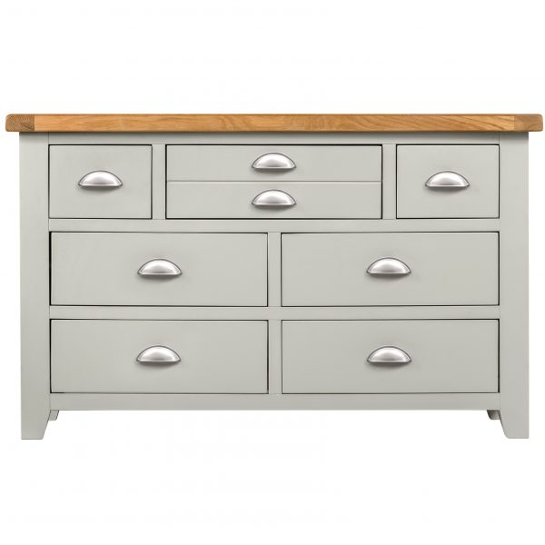 Willow Grey Chest 3 Over 4
