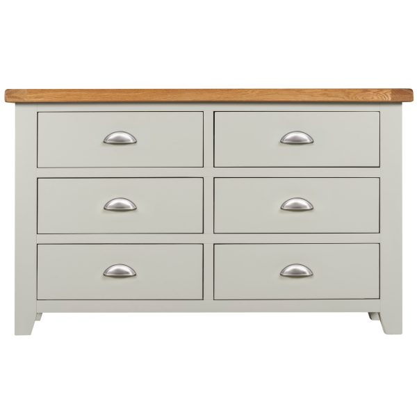 Willow Grey Chest 6 Drawers
