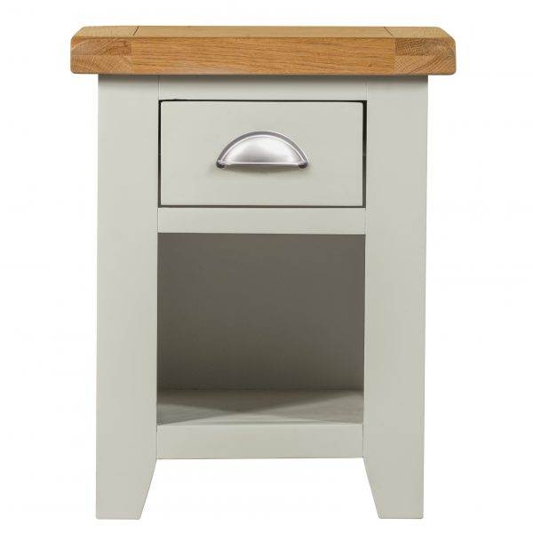 Willow Grey Bedside 1 Drawer