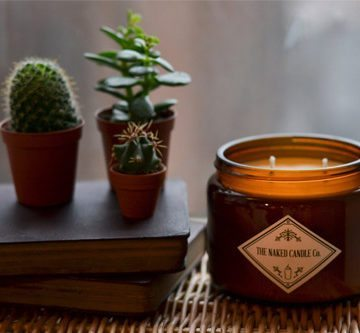 Large Signature - Amber & Ginger Lily Candle