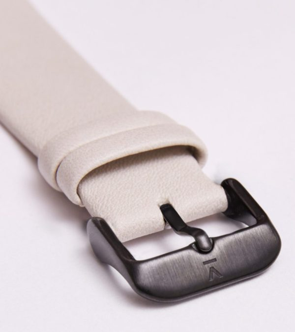 Light Grey With Brushed Black Buckle | 20MM