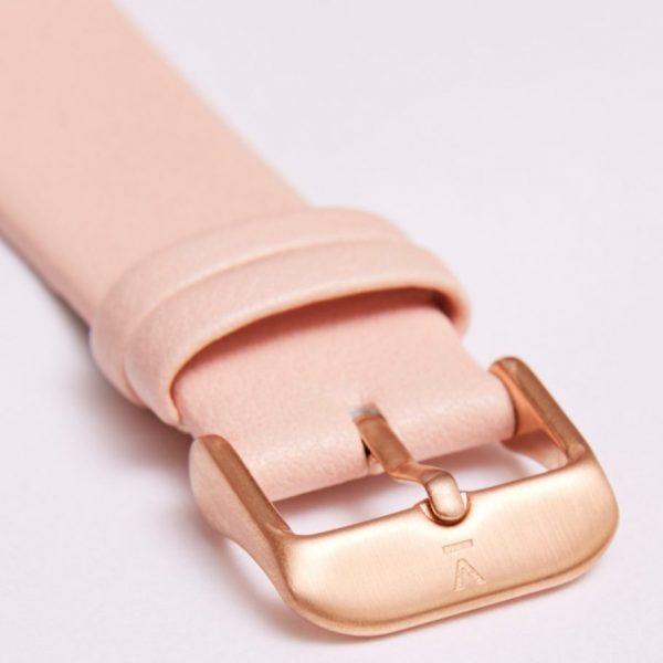 Pink With Brushed Rose Gold Buckle | 20MM